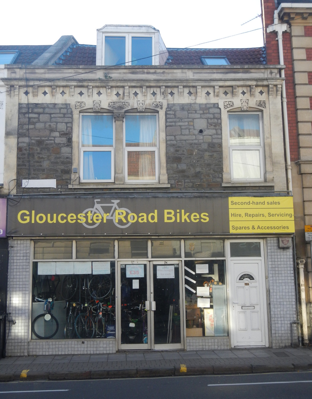 70, Gloucester Road dated 2017-11 from Full Survey 2017
